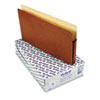 ESS1516COX 1 3/4 Inch Expansion File Pocket, Manila/Red Fiber, Legal, 25/Box ESS 1516COX