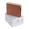 ESS1524EOX 3 1/2 Inch Expansion File Pocket, Manila/Red Fiber, Letter, 25/Box ESS 1524EOX