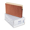 ESS1526EOX 3 1/2 Inch Expansion File Pocket, Manila/Red Fiber, Legal, 25/Box ESS 1526EOX