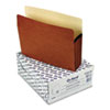 ESS1534GOX 5 1/4 Inch Expansion File Pocket, Manila/Red Fiber, Letter, 10/Box ESS 1534GOX