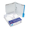 ESS21301 Folders with Embossed Fasteners, 1/3 Cut Top Tab, Letter, Blue, 50/Box ESS 21301
