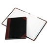 Boorum & Pease Record and Account Book with Black and Red Cover