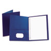 Oxford® Twin-Pocket Folder with Tang Fasteners | www.SelectOfficeProducts.com
