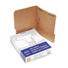 ESSFK211 Kraft One-Fastener Classification Folders with 1/3 Cut Tabs, Letter, 50/Box ESS FK211