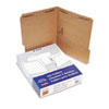 ESSFK212 Kraft Two-Fastener Classification Folders with 1/3 Cut Tabs, Letter, 50/Box ESS FK212