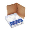 ESSFK213 Kraft Two-Fastener Classification Folders with 2/5 Right Tabs, Letter, 50/Box ESS FK213