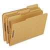ESSFK312 Kraft Two-Fastener Classification Folders with 1/3 Cut Tabs, Legal, 50/Box ESS FK312