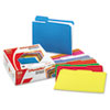 Pendaflex Double-Ply Reinforced Top Tab Colored File Folders