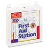 FAO226U First Aid Station for 50 People, 196 Pieces, OSHA Compliant, Metal Case FAO 226U