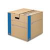 FEL0062801 SmoothMove Moving/Storage Box, Extra Strength, Medium, 18w x 18d x 16h, Kraft FEL 0062801