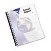 FEL5224301 FUTURA PRESENTATION BINDING SYSTEM COVERS, 11 X 8-1/2, FROST, 25/PACK FEL 5224301