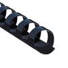 FEL52505 Plastic Comb Bindings, 3/8