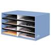 Bankers Box Decorative Solid Color Literature Sorter