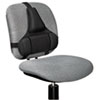 FEL8037601 Professional Series Back Support, Memory Foam Cushion, Black FEL 8037601