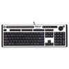 Fellowes Microban Slimline Keyboard