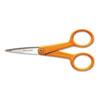 FSK94817797J Home and Office Scissors , 5 in. Length, Orange Handle, Stainless Steel FSK 94817797J