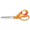 FSK94518697WJ Home and Office Scissors, 8 in. Length, 3-1/2 in. Cut, Right Hand FSK 94518697WJ