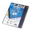 SWI2001036 Clear View Presentation Binding System Cover, 11-1/4 x 8-3/4, Clear, 25/Pack SWI 2001036