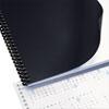 SWI2514493 Opaque Plastic Presentation Binding System Covers, 11 x 8-1/2, Black, 50/Pack SWI 2514493