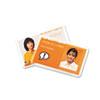 SWI3202004 HeatSeal Laminating Pouches, 5 mil, 2 9/16 x 3 3/4, Badge Size, 25/Pack SWI 3202004