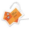 SWI3202005 HeatSeal Luggage Tag Size Laminating Pouches, 5 mil, 2 1/2 x 4 1/4, 25/Pack SWI 3202005