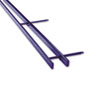 GBC9741631 VeloBind Reclosable Spines, 200 Sheet Capacity, Blue, 25/Pack GBC 9741631