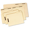 GLW1953418PT Folder, One Fastener, 1/3 Cut Top Tab, Legal, 18 Point, Manila, 50/Box GLW 1953418PT