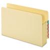 GLW66124 Standard File Pocket, End Tab, Manila, 3 1/2