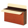 GLWC1525EHD Wide 3 1/2 Inch Expansion Accordion Pocket, Letter, Redrope, 10/Box GLW C1525EHD