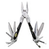 GNS12007 Folding 18-In-1 All-Purpose Stainless Tool w/Belt Pouch GNS 12007