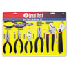 GNS87900 8-Piece Steel Pliers and Wrench Tool Set GNS 87900