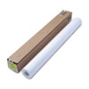 "HP Designjet Bright White Inkjet Paper, 24 lbs., 36"" x 150 ft, White"