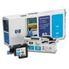 HP C4961A (HP83) UV Printhead & Cleaner, UV Cyan