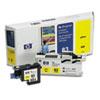 HP C4963A (HP83) UV Printhead & Cleaner, UV Yellow