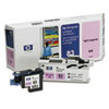 HP C4965A (HP83) UV Printhead & Cleaner, UV Light Magenta