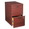 HON105104NN 10500 Series File/File Mobile Pedestal, 15-3/4w x 22-3/4d x 28h, Mahogany HON 105104NN