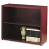 HON105532NN 10500 Series Bookcase, 2 Shelves, 36w x 13-1/8d x 29-5/8h, Mahogany HON 105532NN
