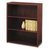HON105533NN 10500 Series Bookcase, 3 Shelves, 36w x 13-1/8d x 43-3/8h, Mahogany HON 105533NN