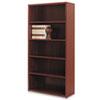 HON105535NN 10500 Series Bookcase, 5 Shelves, 36w x 13-1/8d x 71h, Mahogany HON 105535NN