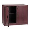 HON107291NN 10700 Series Locking Storage Cabinet, 36w x 20d x 29-1/2h, Mahogany HON 107291NN