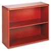 HON10752JJ 10700 Series Bookcase, 2 Shelves, 36w x 13-1/8d x 29-5/8h, Henna Cherry HON 10752JJ