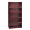 HON10755NN 10700 Series Bookcase, 5 Shelves, 36w x 13-1/8d x 71h, Mahogany HON 10755NN