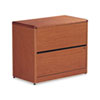 HON10762JJ 10700 Series Two-Drawer Lateral File, 36w x 20d x 29-1/2h, Henna Cherry HON 10762JJ