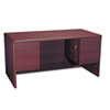 HON10771NN 10700 Series Desk, 3/4-Height Double Pedestals, 60w x 30d x 29-1/2h, Mahogany HON 10771NN