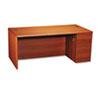 HON10787RJJ 10700 Single Pedestal Desk, Full-Right Pedestal, 72w x 36d x 29-1/2h, Henna CY HON 10787RJJ