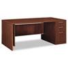 HON11887RGFF Attune Right Pedestal Desk, Frosted Mod Panel, 72w x 36d x 29-1/2h, Shaker CY HON 11887RGFF