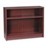HON1871N 1870 Series Bookcase, 2 Shelves, 36w x 11-1/2d x 29-7/8h, Mahogany HON 1871N