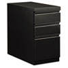 HON18730RP Flagship Mobile Box/Box/File Pedestal, Full Radius Pull, 28-7/8d, Black HON 18730RP