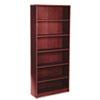 HON1877N 1870 Series Bookcase, 6 Shelves, 36w x 11-1/2d x 84h, Mahogany HON 1877N