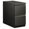 HON18830RS Flagship Mobile File/File Pedestal, Full Radius Pull, 28-7/8d, Charcoal HON 18830RS